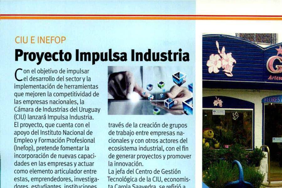 Caras y caretas: Proyecto Impulsa Industria