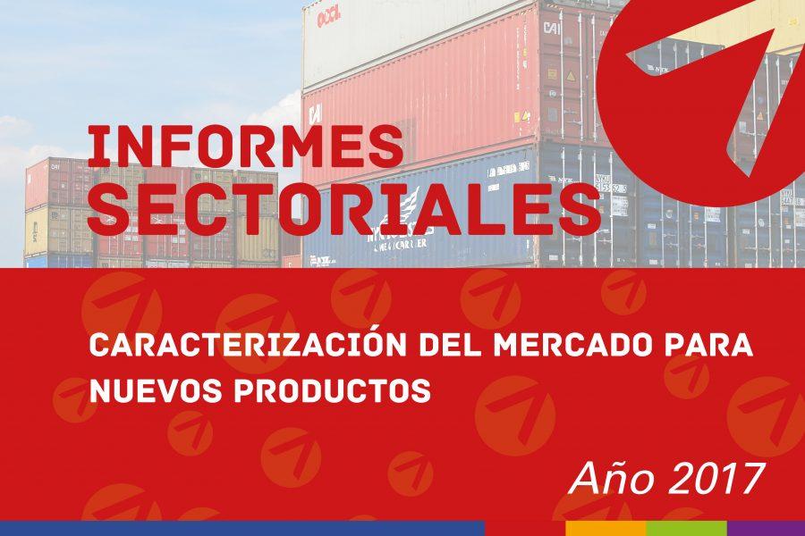 Caracterización del mercado para nuevos productos