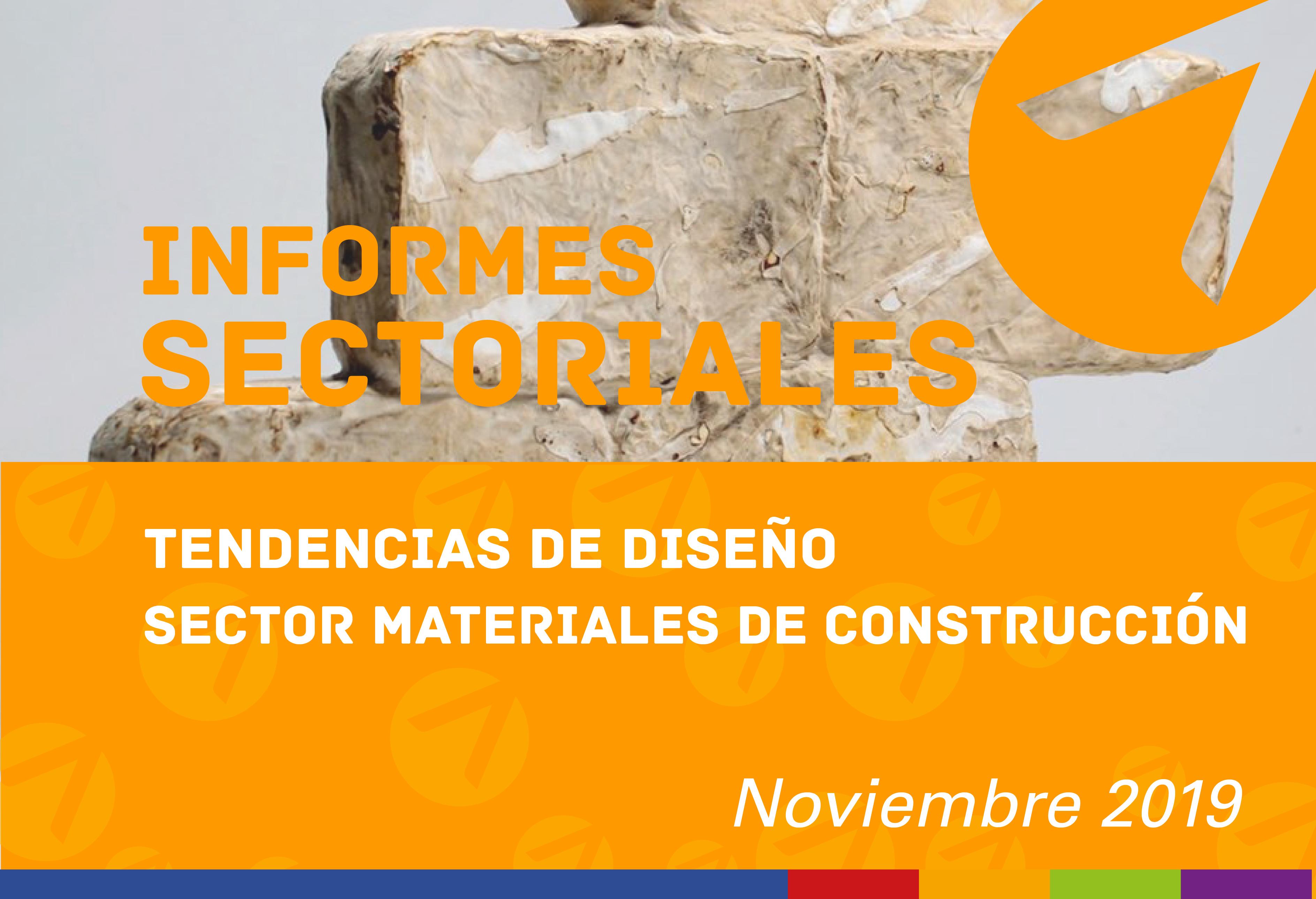 Tendencias de diseño para el sector materiales de construcción