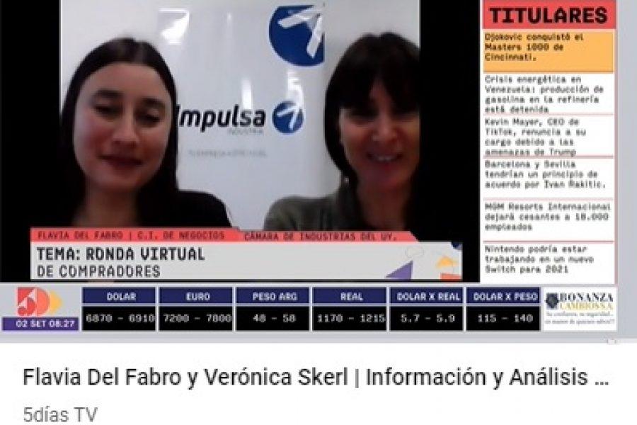 5 Días TV: Entrevista sobre la Ronda Virtual de Negocios con compradores paraguayos