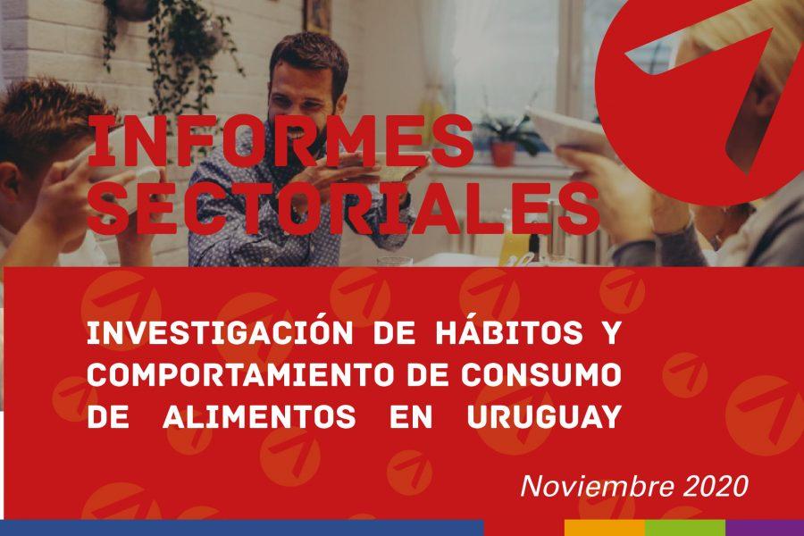 Investigación de Hábitos y comportamiento de consumo de alimentos en Uruguay