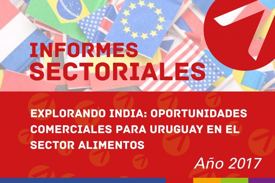 Explorando India: oportunidades comerciales para Uruguay en el sector Alimentos