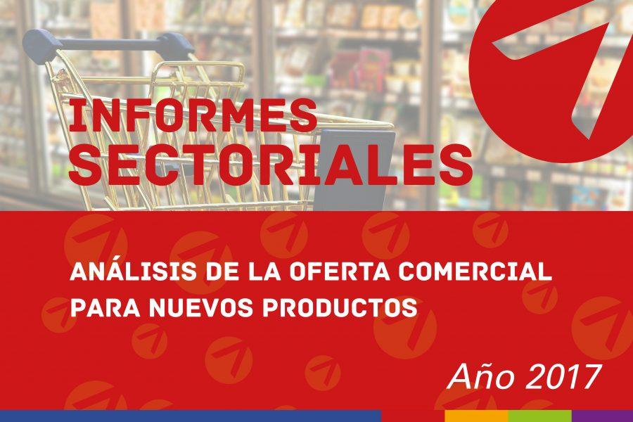 Análisis de la oferta comercial para nuevos productos