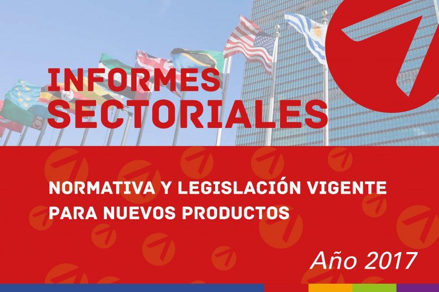 Normativa y legislación vigente para nuevos productos