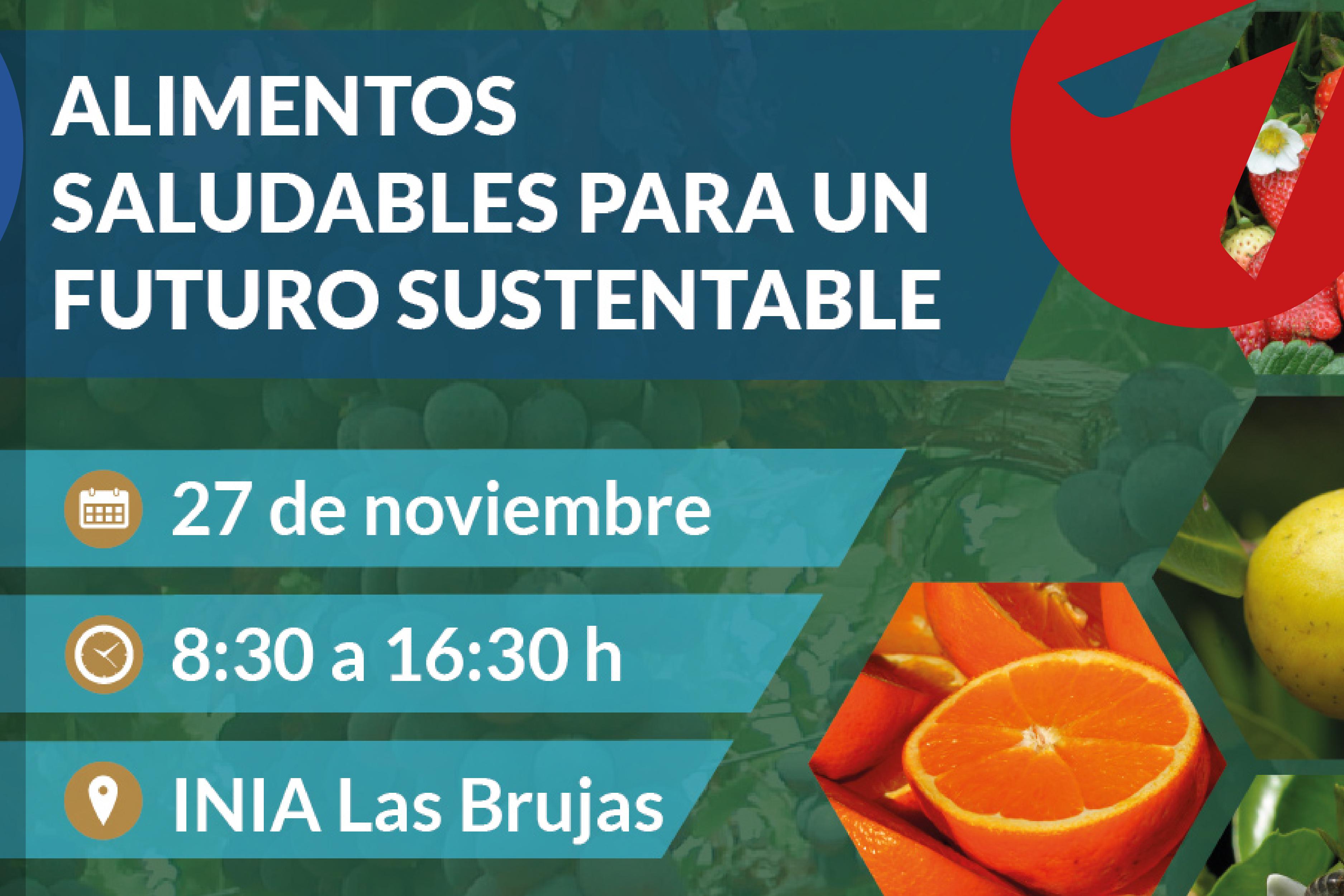 Jornada: Alimentos saludables para un futuro sustentable