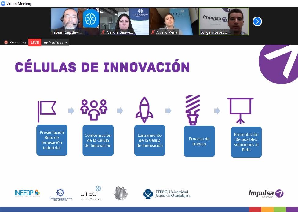 Crónicas: Se presentó el servicio de Células de Innovación de Impulsa Industria en evento UTECenRed