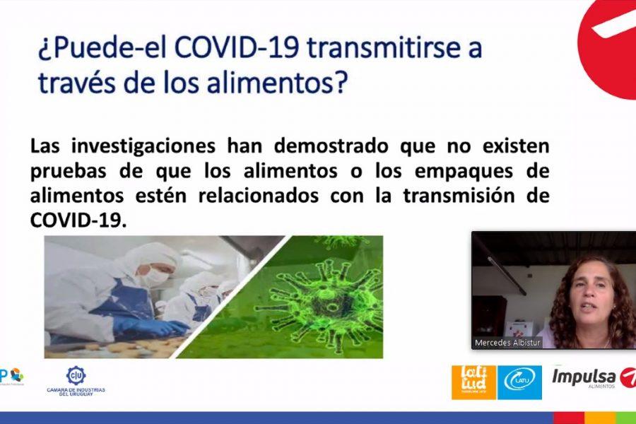 Inocuidad y COVID-19 en la industria alimentaria